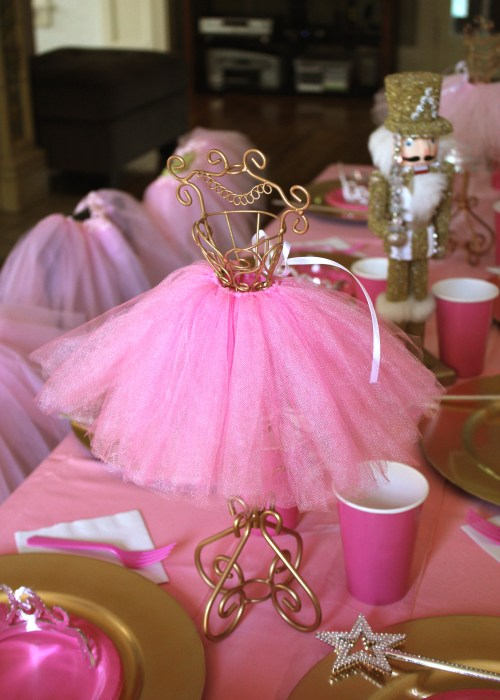 Ballerina Theme Birthday