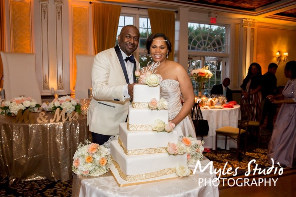 Happy Couple at VIP Country Club in New Rochelle, NY