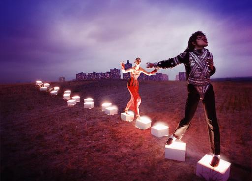 Micheal Jackson Tribute Exhibit in London