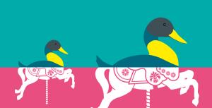 Website image duck horse crop