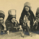 Uzbekistan. Photographic print in album.