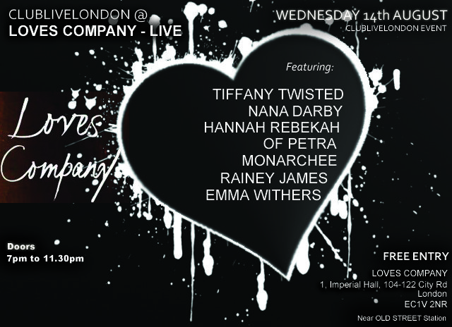 Loves Company Wed 14th August 2