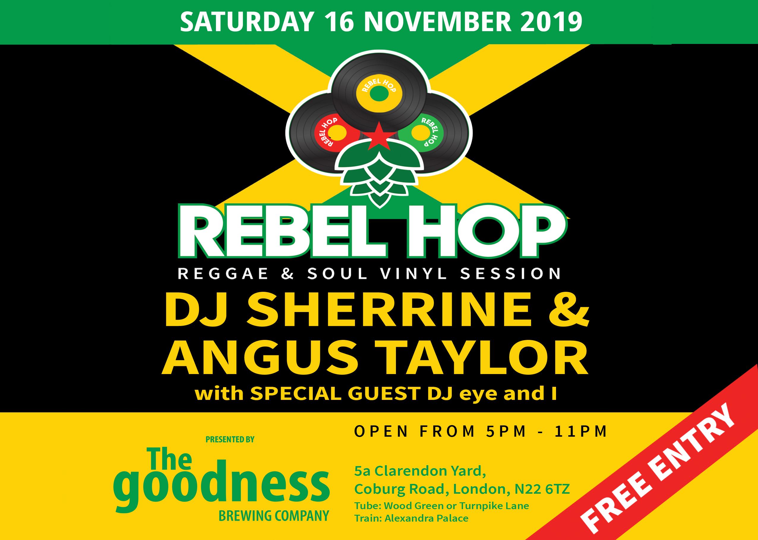 Rebel Hop 16 November landscape