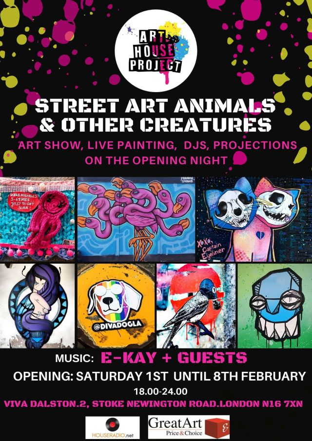 POSTER STREET ANIMALS OTHER CREATURES 2