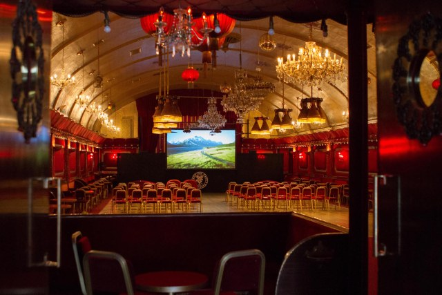 Theatre Style Seating Venue in London