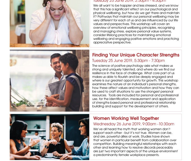 Women Working Well Together – Free Introductory Professional Development