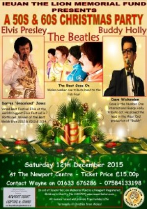 50s and 60s Christmas Party