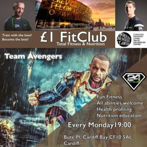 Team Avengers Fit Club