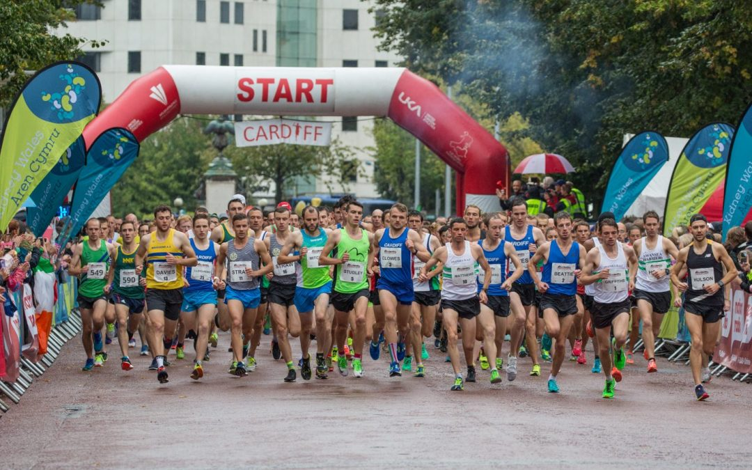 Nation Radio Cardiff 10k charity run hosted by Kidney Wales