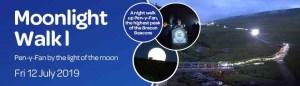 Moonlight Walk 1 for St David's Hospice Care @ Pen y Fan