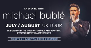 Michael Buble at Cardiff Castle 5th August 2020 @ Cardiff Castle