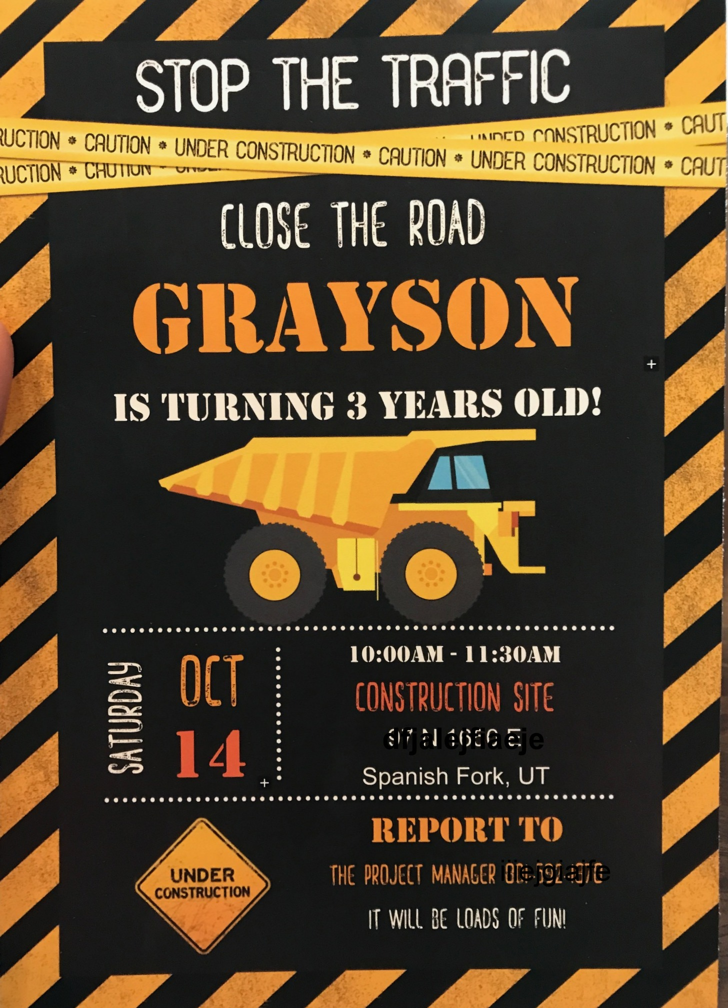 Construction Party Games Crafts Favors And Invitations
