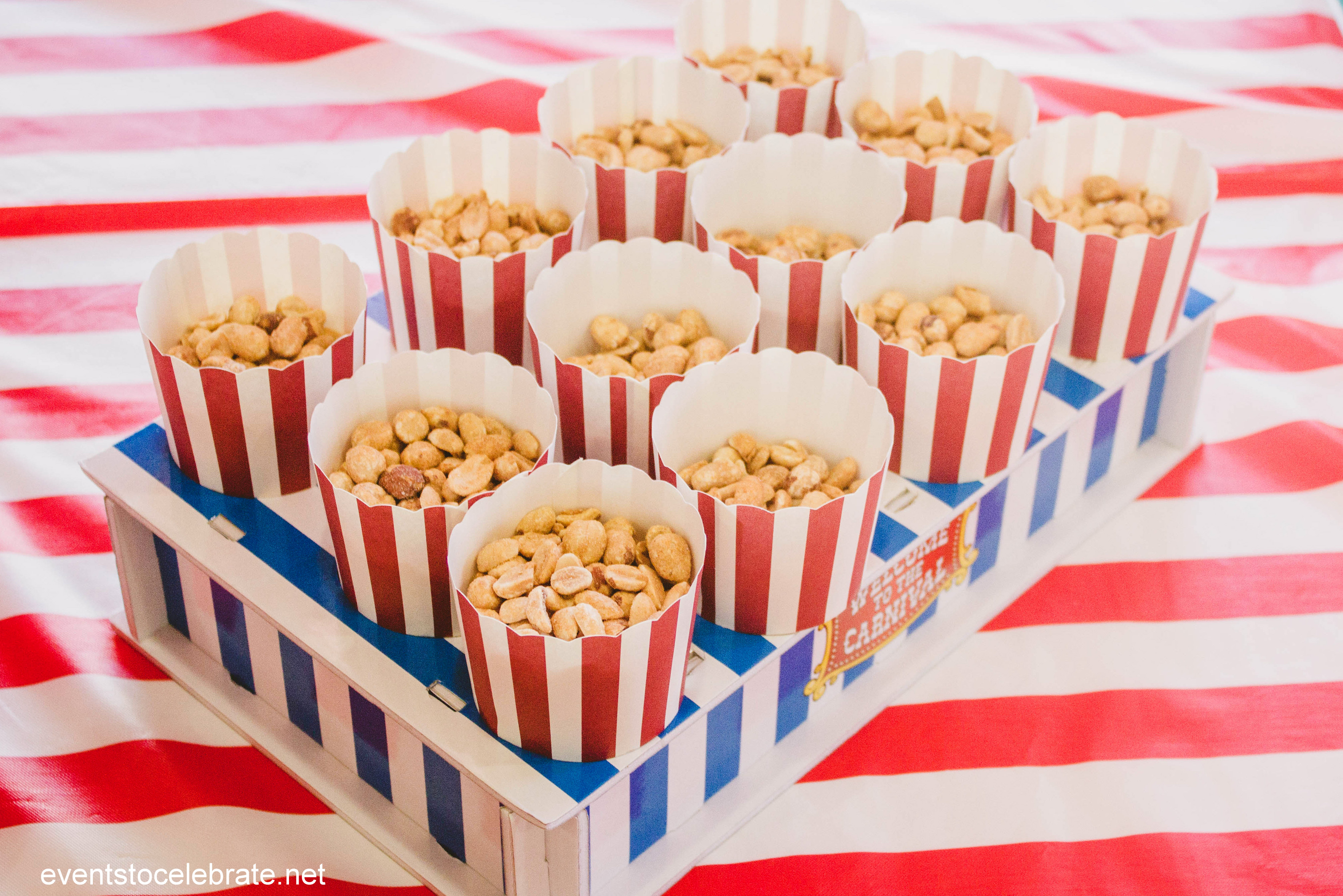 Circus Baby Shower Food Ideas