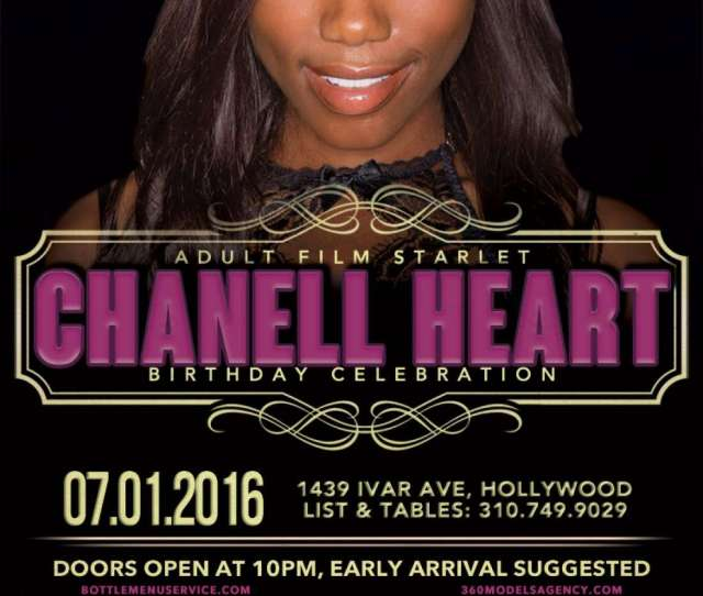 Lure Nightclub Celebrates 360 Models Adult Star Chanell Heart Birthday