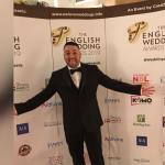 Raf at the English wedding awards