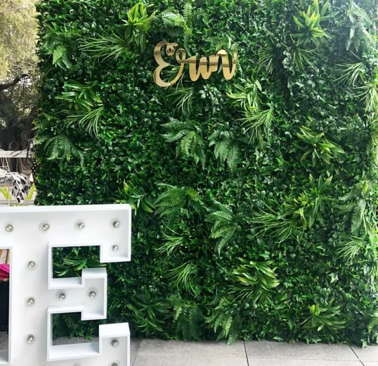 Faux Foliage / Tropical Wall