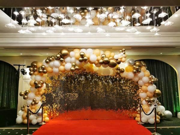 Gold Sequin / Shimmer Backdrop