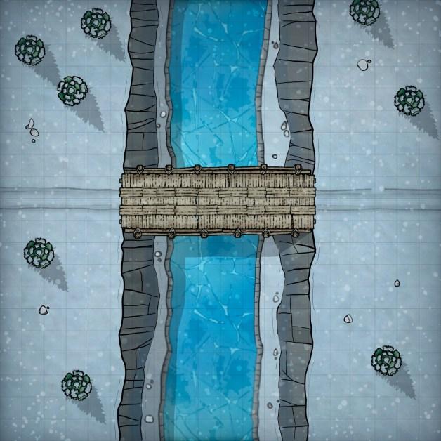 Icewind Dale Battlemap