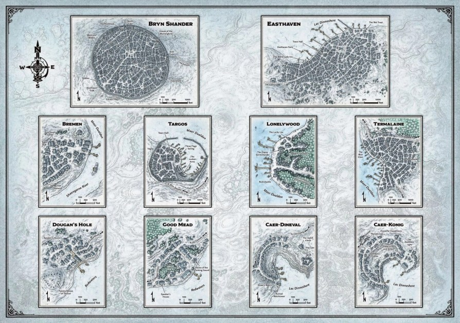 Icewind Dale Rime of the Frostmaiden Ten Towns