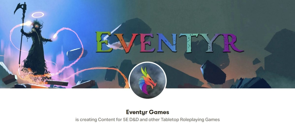 Support Eventyr Games on Patreon