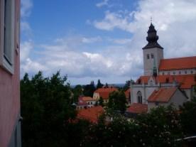 Udsigten fra Kyrk Berget - byens bedst udsigtspunkt