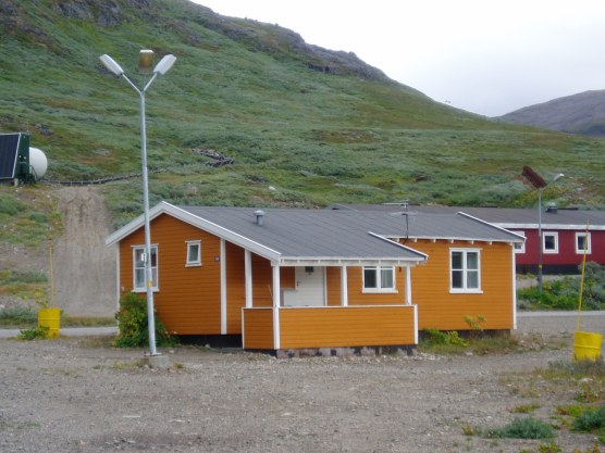 Vi boede i dette lille hus som blev kaldt Arkitekten