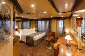 En sutie på et krydstogtskib byder bare på mere plads og endnu mere luksus