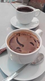 Forrest kaffe med chokolde Bagerst ægte varm chokolade