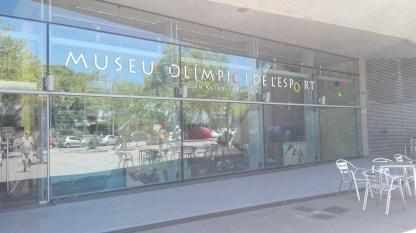 Indgangen til det Olympiske museum