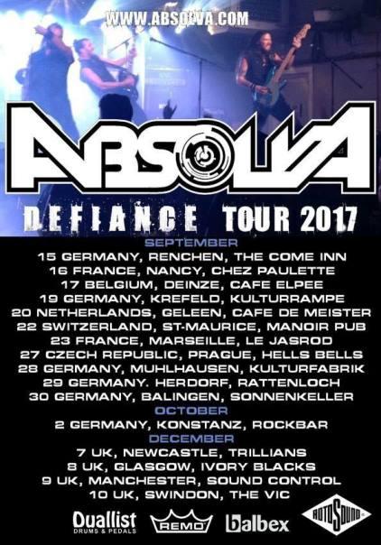 Absolva Tour Poster
