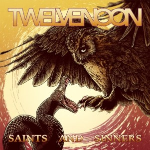 Twelve Noon - Saints And Sinners Cover