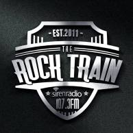 Updated The Rock Train at Siren 107.3 FM Logo