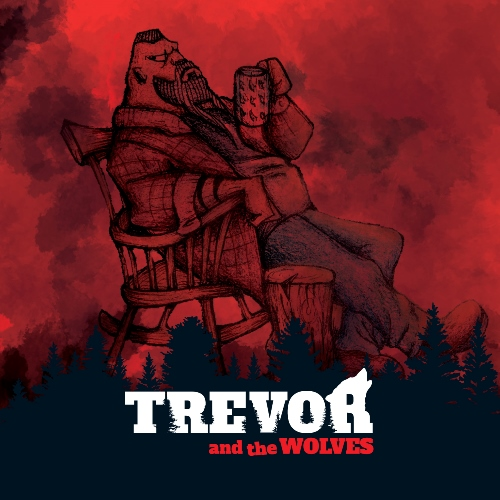Trevor And The Wolves Road To Nowhere Album Cover Art