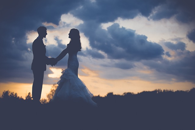 Feder zur Hochzeit