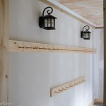 Mudroom – hooks and trim