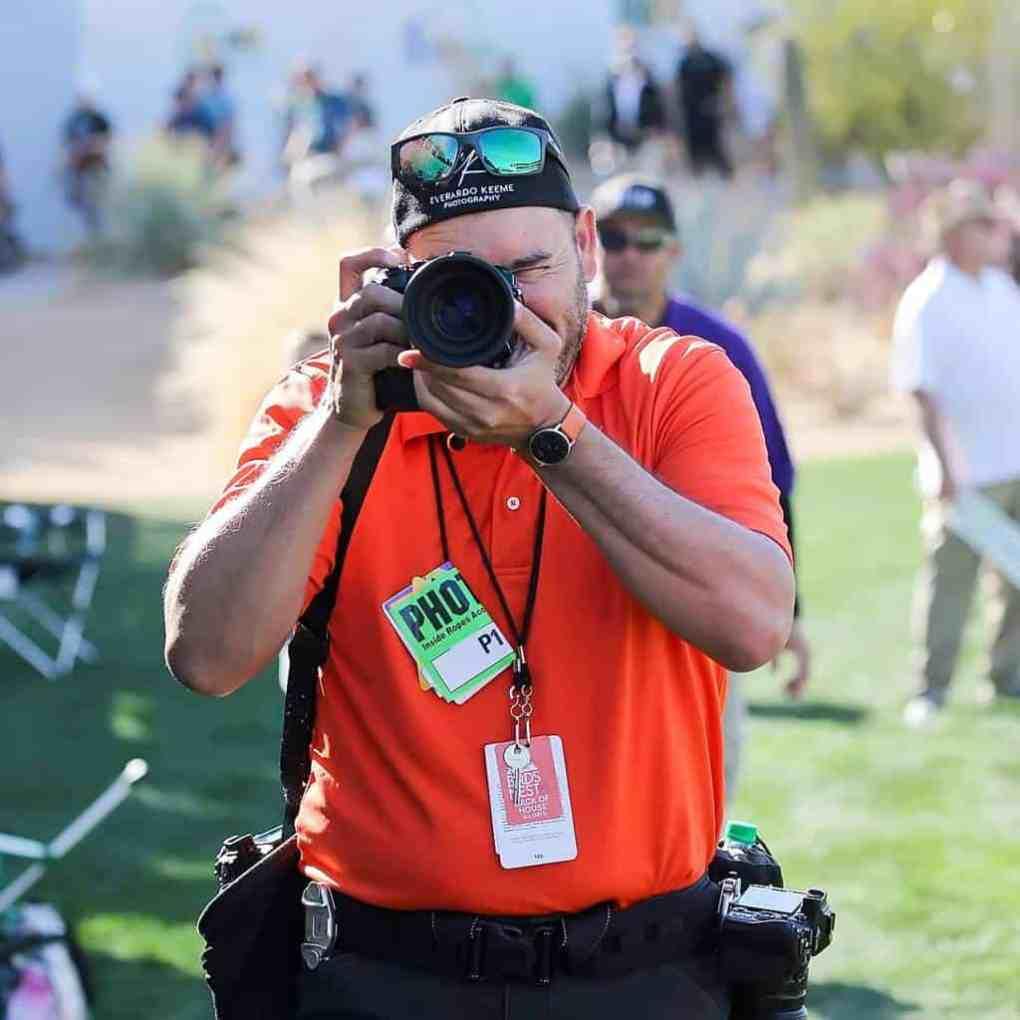 Everardo Keeme Official Photographer Waste Management Phoenix Open