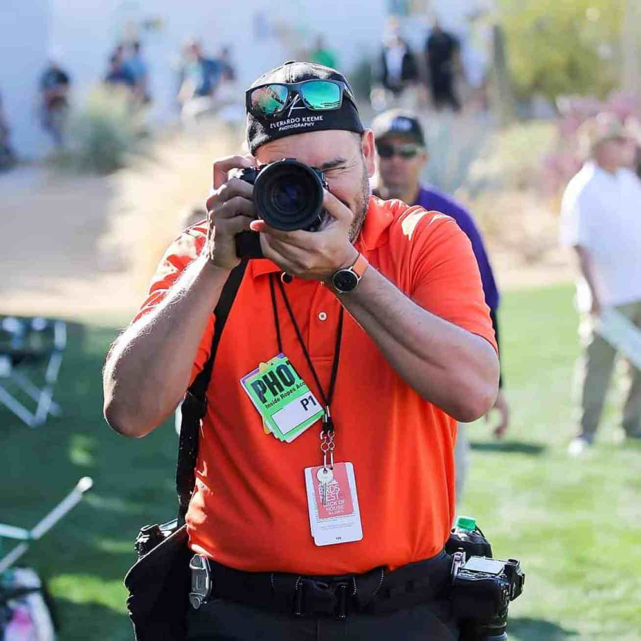 Everardo Keeme Official Photographer Waste Management Phoenix Open