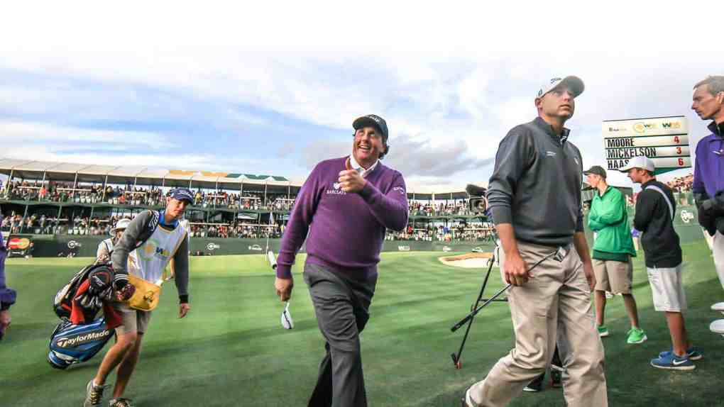 Everardo Keeme Photography Getting ready for the Waste Management Phoenix Open wmpophoto wmpo Waste Management Phoenix Open TPC Scottsdale Scottsdale Phoenix Open pgatour golf AZ
