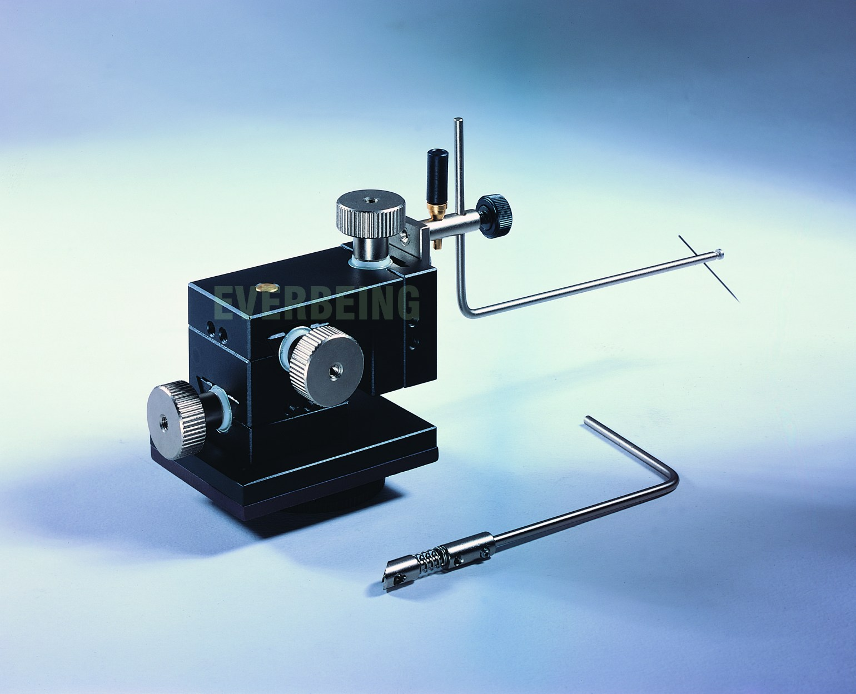 micropositioner probe holder for dc measurement