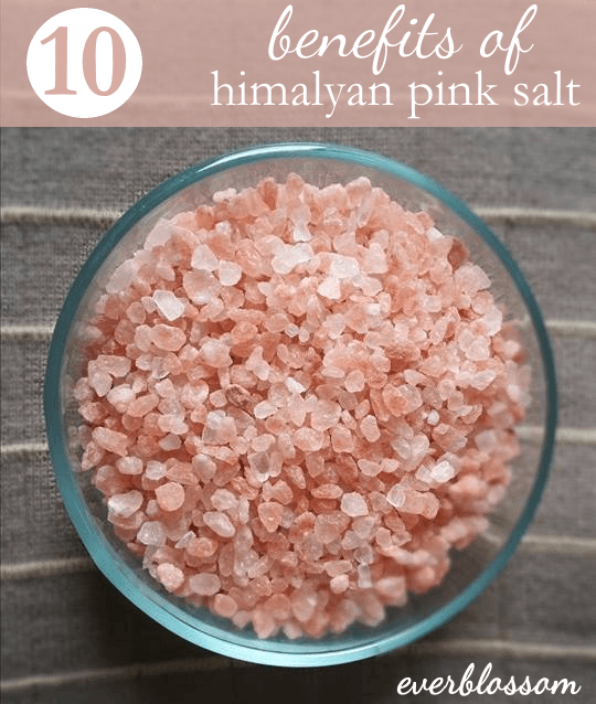 Himalayan pink salt is GORGEOUS but also has a lot of health benefits.  Here are a few...