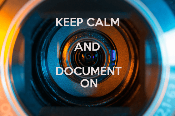 Keep Calm and Document On