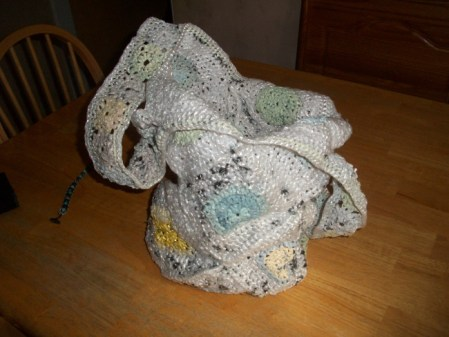 plarn crocheted bag