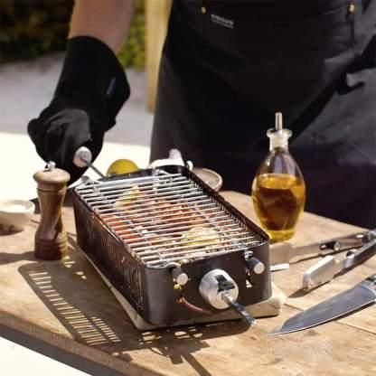 旋轉燒烤匣