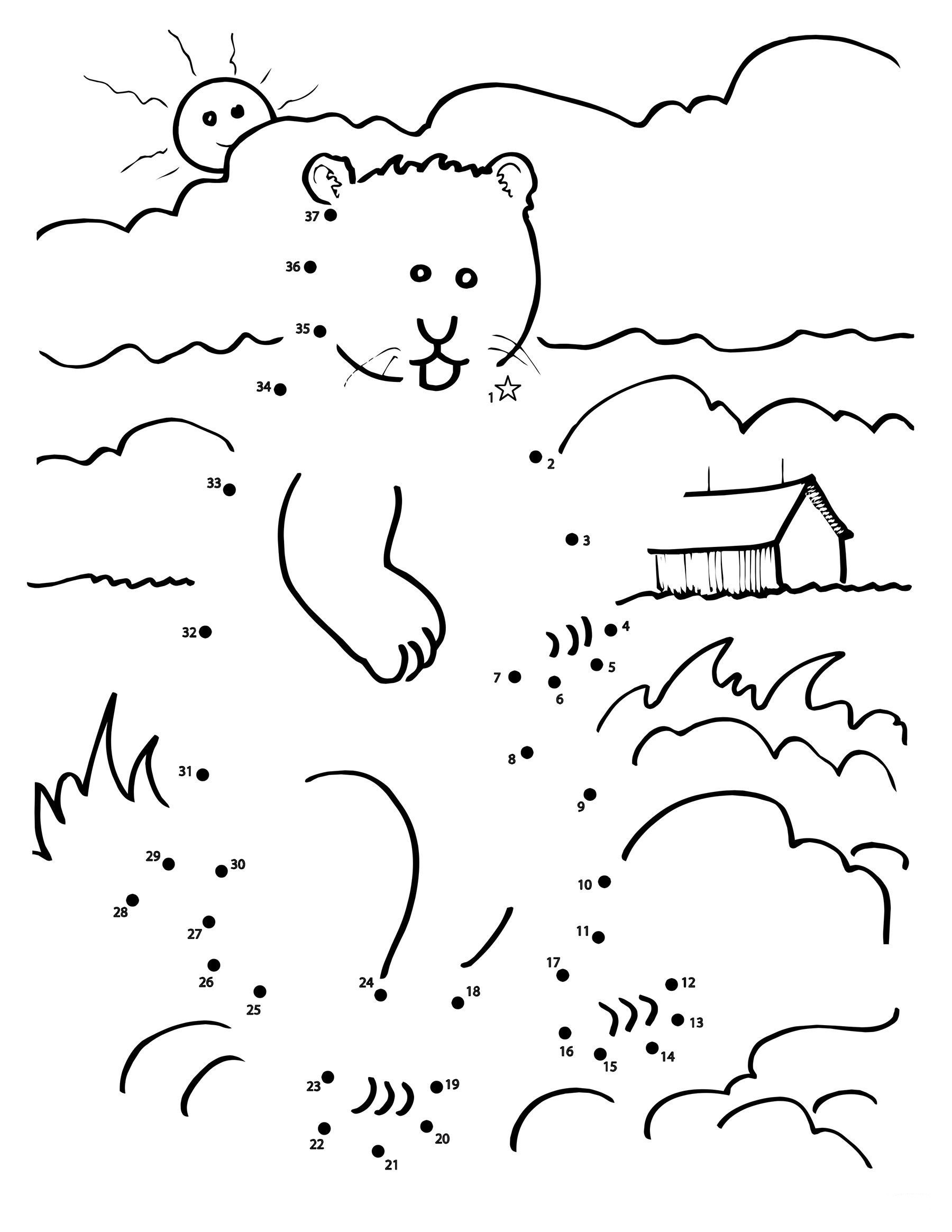 Groundhog Day Worksheets Kindergarten Worksheet For