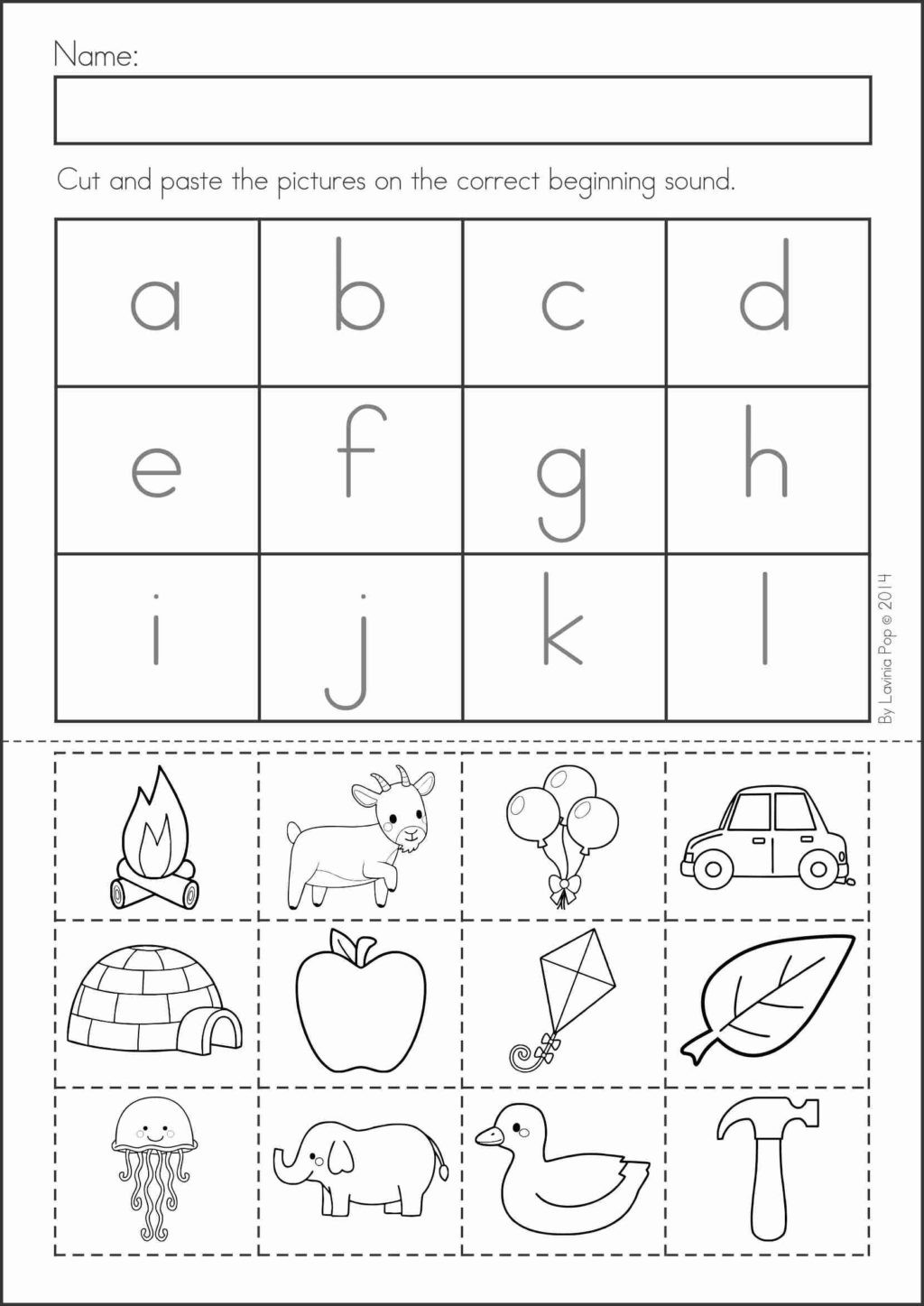 Kindergarten Math Review Worksheets Worksheet For
