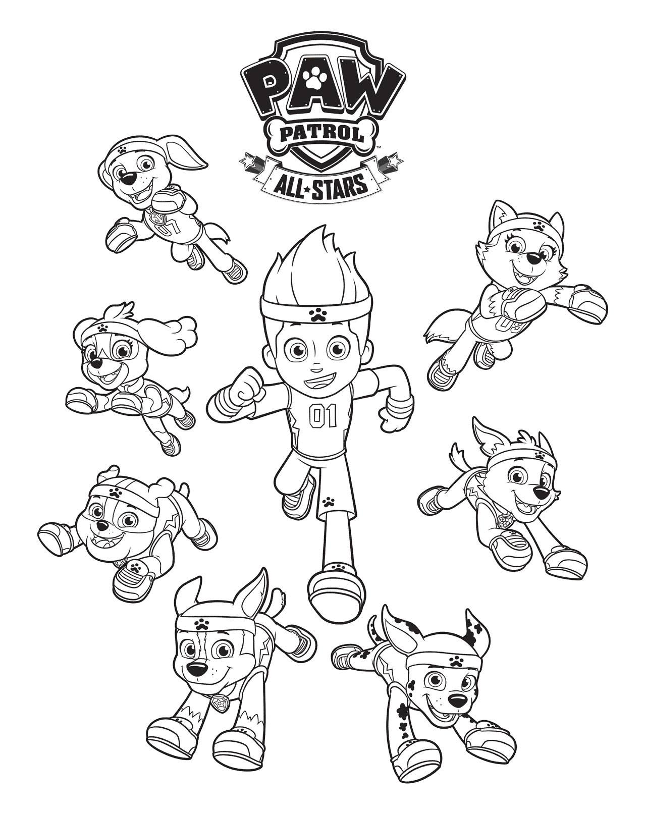 Paw Patrol Printable Worksheets Worksheet For Kindergarten