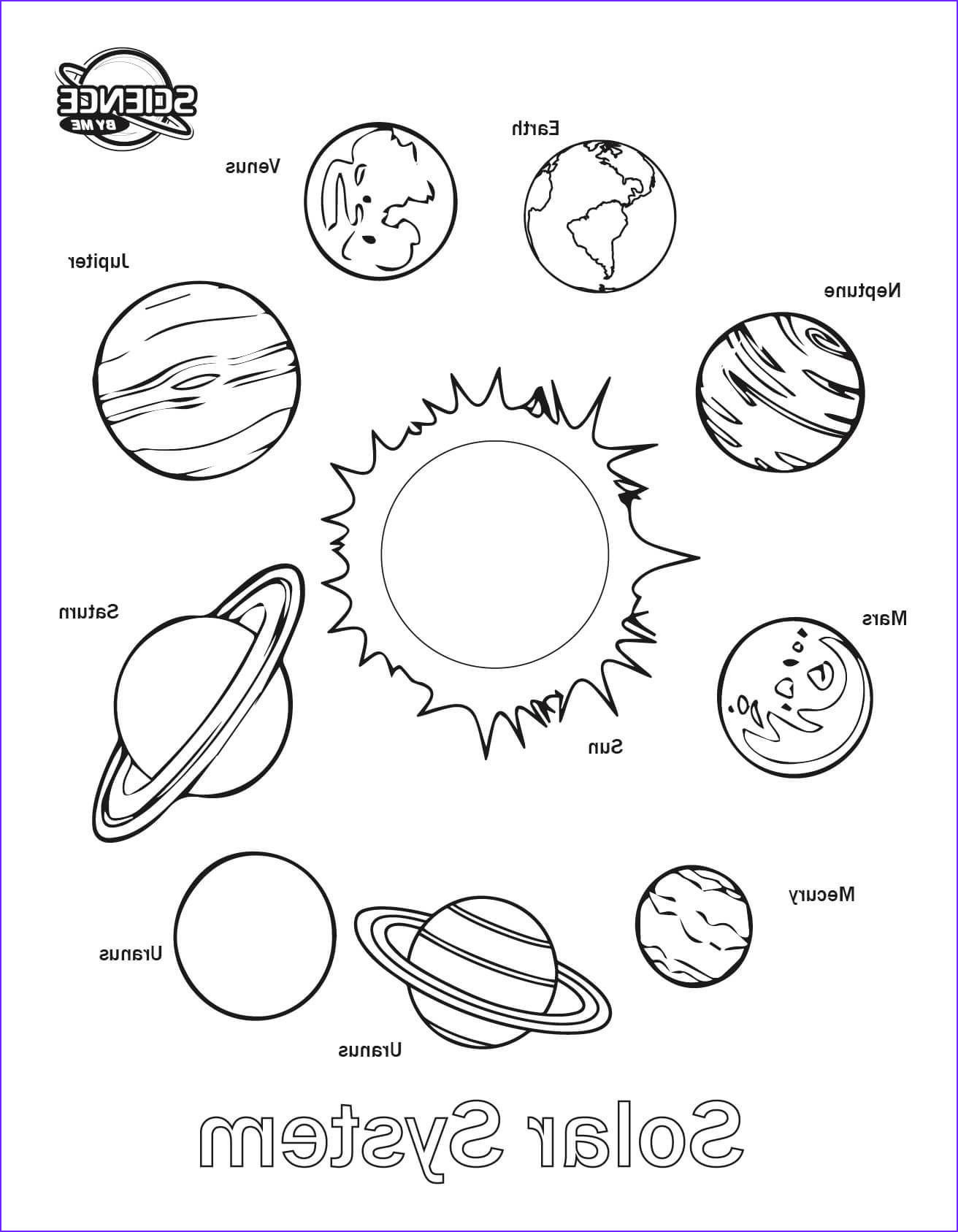 Printable Solar System Worksheets Worksheet For Kindergarten