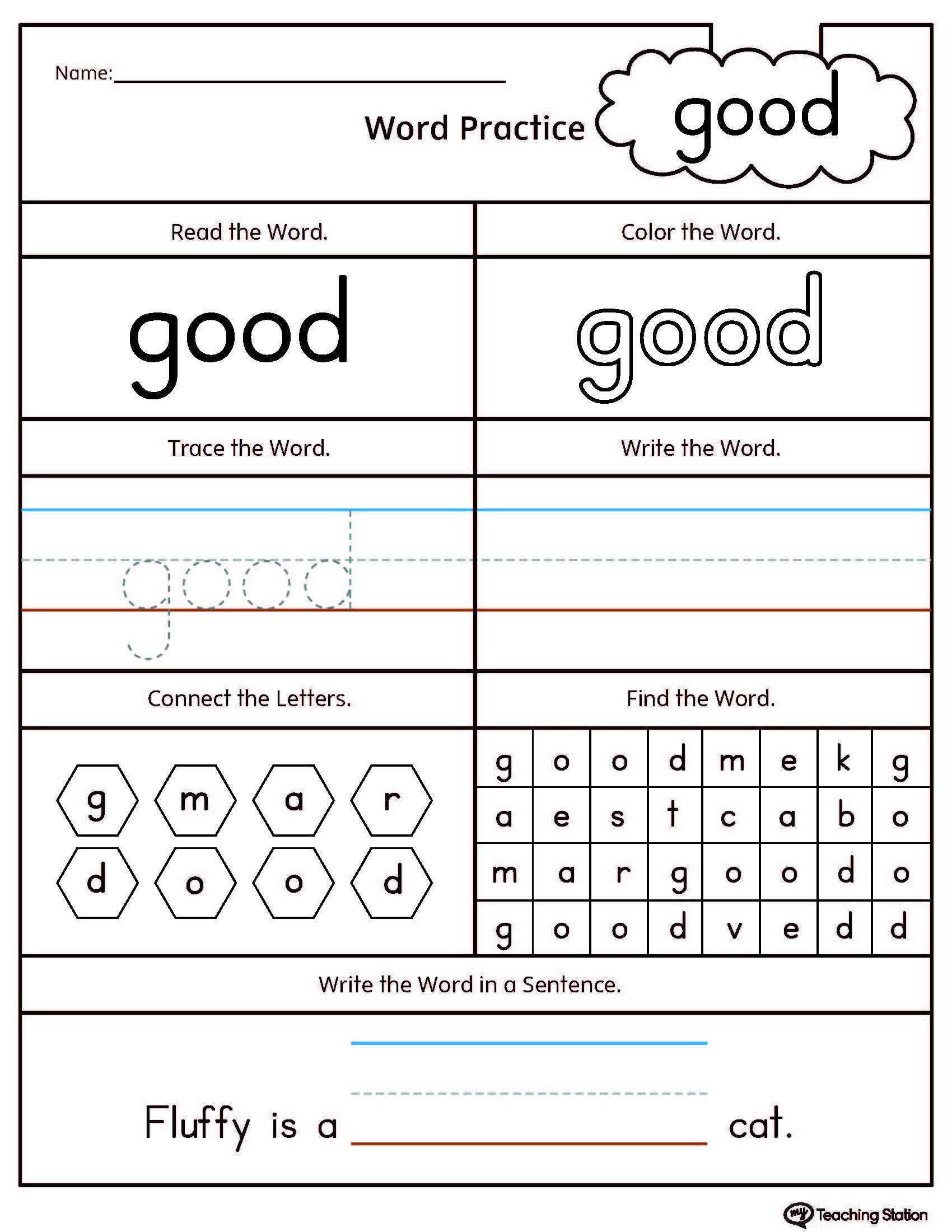 Rhyming Word Worksheets For Kindergarten