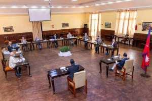 नेकपा सचिवालय बैठक बालुवाटारमा जारी, भीम रावल पनि सहभागी
