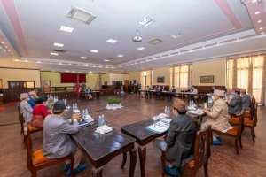 बालुवाटारमा मन्त्रिपरिषद् बैठक जारी, के विषयमा हुँदैछ छलफल?